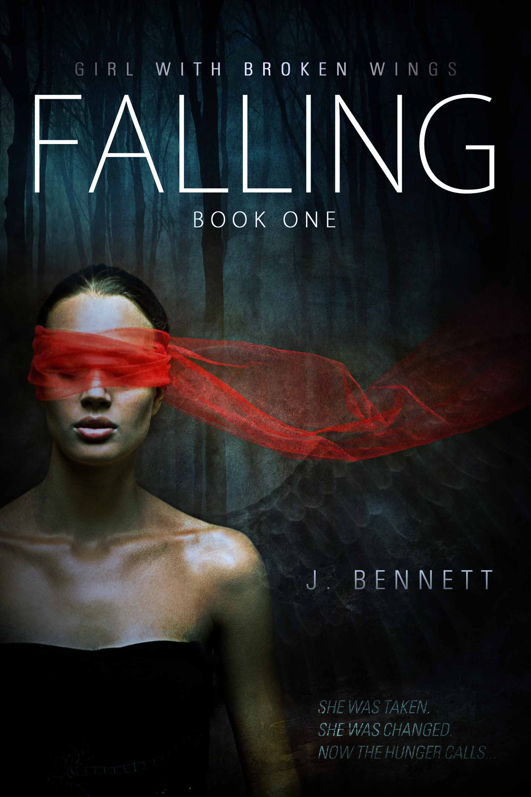 Falling, Girl With Broken Wings